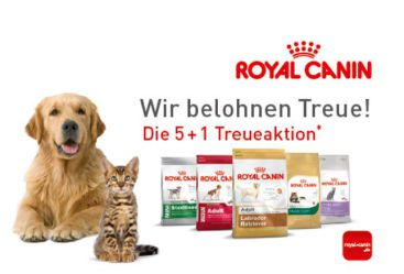 Treueaktion Royal Canin